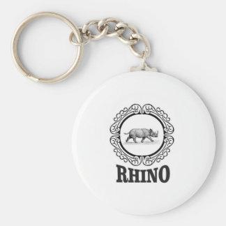 rhino club keychain