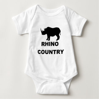 Rhino Country Baby Bodysuit