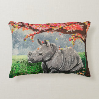 Rhino Decorative Pillow