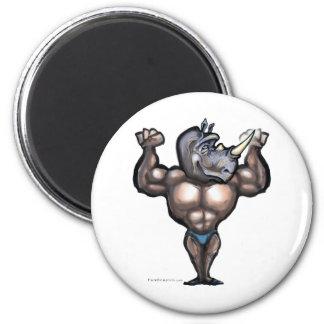 Rhino Dude 2 Inch Round Magnet