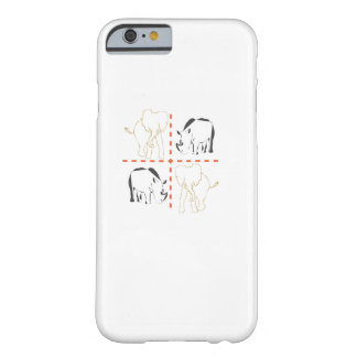 Rhino/Elephant Barely There iPhone 6 Case