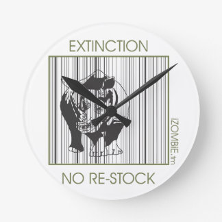 rhino EXTINCTION clock