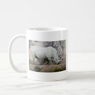 Rhino from South Africa Classic White Coffee Mug