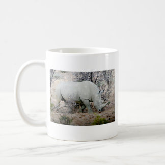 Rhino from South Africa Coffee Mug