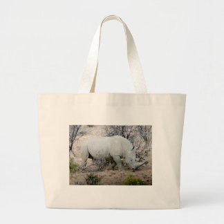 Rhino from South Africa Large Tote Bag