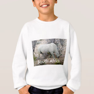 Rhino from South Africa Sweatshirt