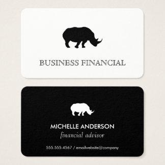 Rhino Icon Business Card