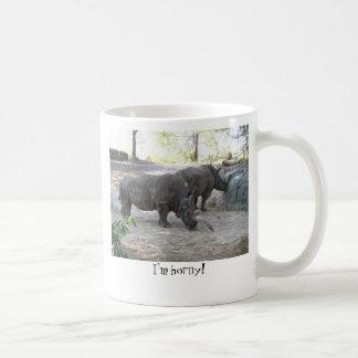 RHINO, I'm horny! Coffee Mug