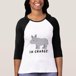 Rhino in Charge! T-Shirt