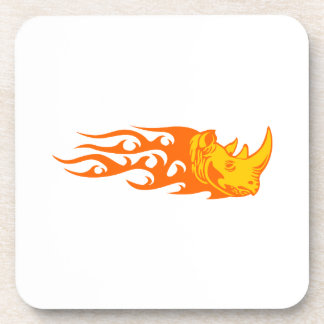 Rhino in Flames Coasters