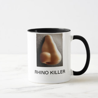 RHINO KILLER MUG