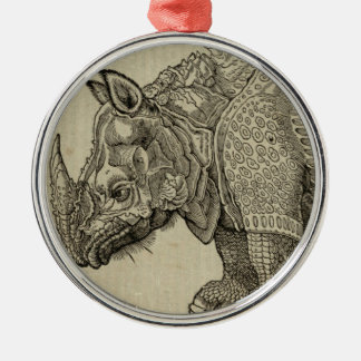 Rhino Metal Ornament