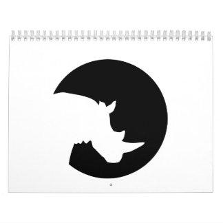 Rhino moon calendars