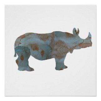 Rhino Perfect Poster