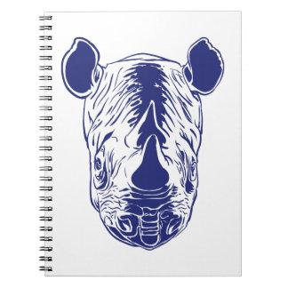 rhino portrait notebooks