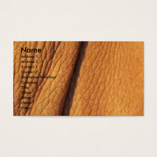 Rhino Skin Business Card
