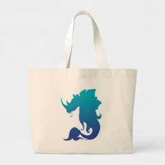Rhino-Stego-Fish (Water Color Scheme) Tote Bags