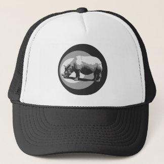 Rhino Symbol Truckers Hat