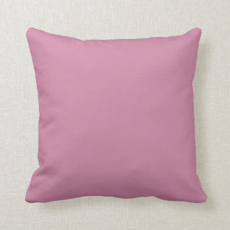 Rhino watercolour rainbow pink back throw pillow