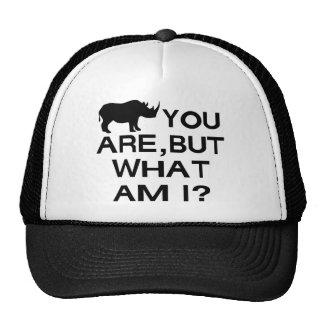 Rhino You Are Trucker Hat