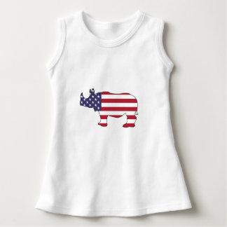 Rhinoceros - American Flag Dress