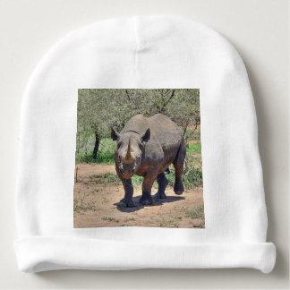 rhinoceros baby beanie