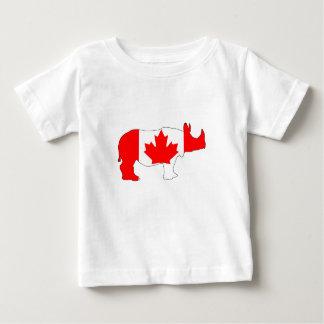 Rhinoceros Canada Baby T-Shirt