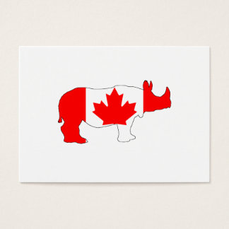 Rhinoceros Canada Business Card