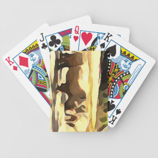 Rhinoceros from Safari Bicycle Playing Cards