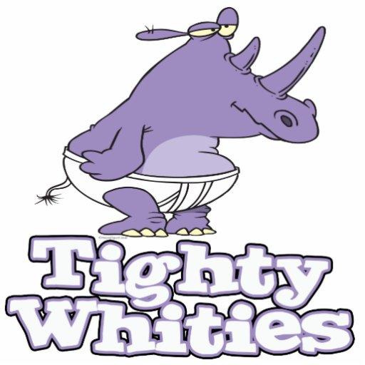 rhinocéros idiot drôle dans les sous-vêtements tig photos en relief