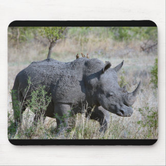 Rhinoceros Mouse Pad