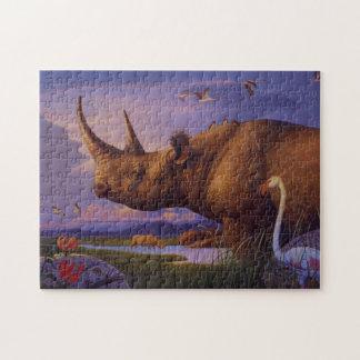 Rhinoceros Puzzle