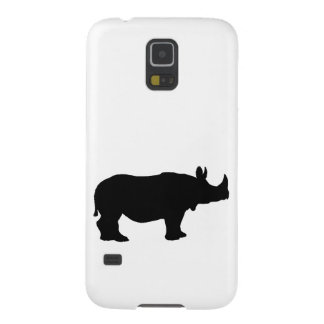 Rhinoceros silhouette cases for galaxy s5