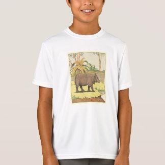 Rhinoceros Story Book Illustrated T-Shirt