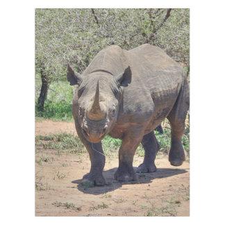 rhinoceros tablecloth