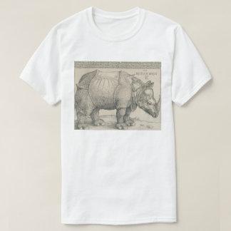 Rhinoceros, Woodcut by Albrecht Durer T-Shirt