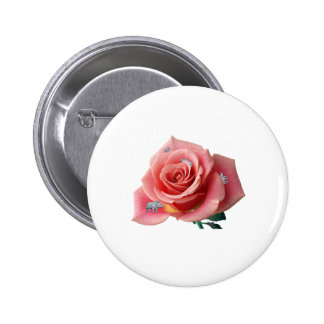 Rhinocerose 2 Inch Round Button