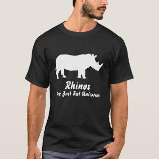 Rhinos are just fat unicorns - T-shirt