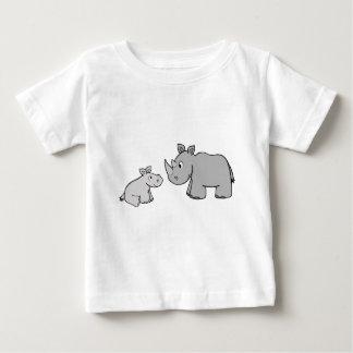 Rhinos Baby T-Shirt