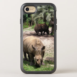Rhinos on Safari Phone Case