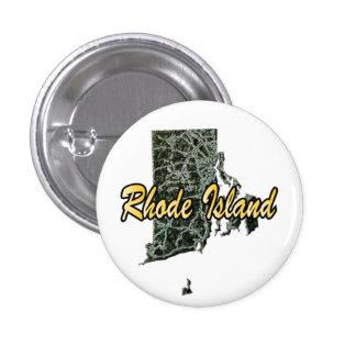 Rhode Island 1 Inch Round Button