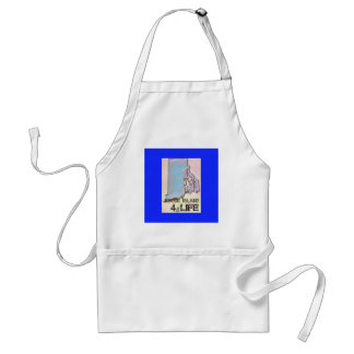 """Rhode Island 4 Life"" State Map Pride Design Standard Apron"