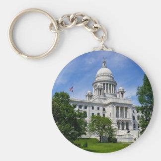 Rhode Island Capitol Keychain
