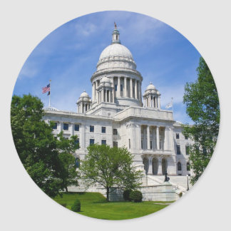 Rhode Island Capitol Sticker