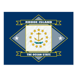 Rhode Island Diamond Postcard