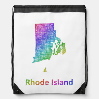 Rhode Island Drawstring Bag