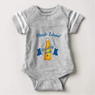 Rhode Island Drinking team Baby Bodysuit