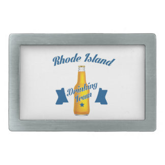 Rhode Island Drinking team Belt Buckle