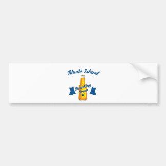 Rhode Island Drinking team Bumper Sticker