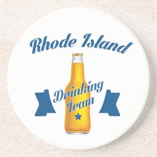 Rhode Island Drinking team Coaster